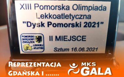 Dysk Pomorski 2021 z MKS GALA