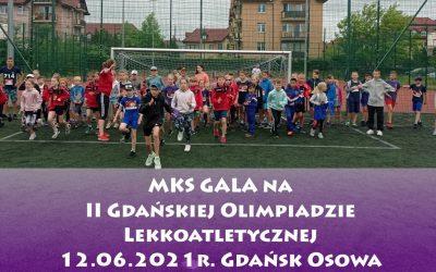 II Gdańska Olimpiada Lekkoatletyczna Gdańsk-Osowa