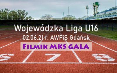 MKS GALA na Wojewódzkiej Lidze U16 Gdańsk